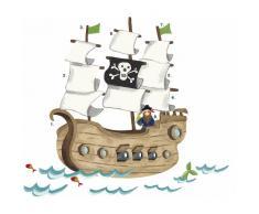 RoomMates Wandtattoo, »Piratenschiff«
