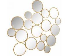 Home affaire Wanddeko »Spiegel Kreise« aus Metall