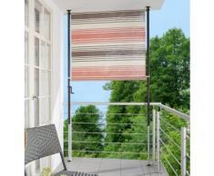 ANGERER FREIZEITMÖBEL Balkonsichtschutz »Nr. 5100«, rot/beige/braun, in 2 Breiten
