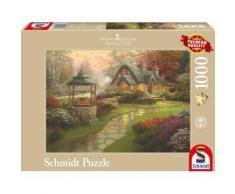 Schmidt Spiele Puzzle mit 1000 Teilen, »Haus mit Brunnen«