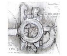Eurographics Handgemaltes Ölgemälde »The Inner Circle«, 80/80 cm