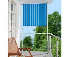 Balkonsichtschutz »Polyacryl, blau/weiß« in 2 Breiten
