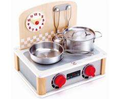 Hape Kinder Küchengerät aus Holz, »2-in-1 Küchen- & Grill-Set, 6-tlg.«