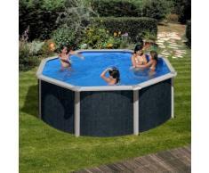 Summer Fun Set: Rundpool »Rattan« 9-tlg.
