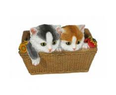 Home affaire Dekofigur »2 Katzen im Korb«