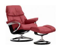 Stressless® Set: Relaxsessel mit Hocker »Ruby« mit Signature Base, Größe M, mit Schlaffunktion