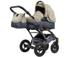 knorr-baby Kombi Kinderwagen Voletto Sport mit Wickeltasche, grau-sand
