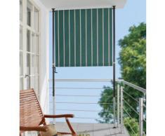 Balkonsichtschutz »Polyacryl, grün/weiß« in 2 Breiten