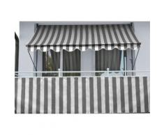 Balkonsichtschutz »Polyethylen, anthrazit« in 2 Höhen