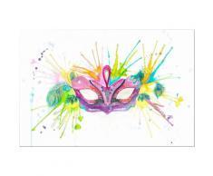 INOSIGN Acrylglasbild »Buttafly - Mardi Gras«, 60/40 cm