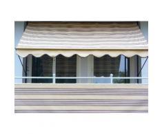 Balkonsichtschutz »Polyacryl, beige/braun« in 2 Höhen