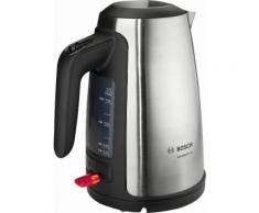 Bosch Wasserkocher kabellos ComfortLine TWK6A813, Edelstahl/schwarz