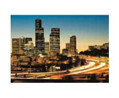 Home affaire Fototapete »City Lights«, 368/254 cm