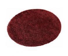 Hochflor-Teppich, rund, Esprit, »Cosy Glamour«, Höhe ca. 40 mm, gewebt mit Melange-Effekt