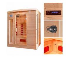HOME DELUXE Infrarotkabine »Tropical L«, B/T/H: 153/110/190 cm, 40 mm, für bis zu 3 Personen