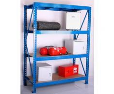 Zusatzböden für Weitspann-Steckregal, Tiefe 80 cm, 2er-Set
