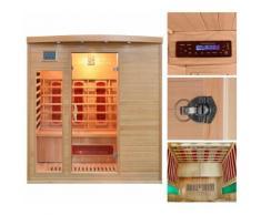 HOME DELUXE Infrarotkabine »Tropical XL«, B/T/H: 175/120/190 cm, 40 mm, für bis zu 3 Personen