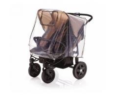 DIAGO Universal Regenschutz für Zwillingswagen, Zwillingsbuggy