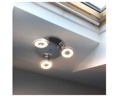 Licht-Trend Deckenleuchte »Sempre Tres / drehbarer LED-3er Spot / Chrom«
