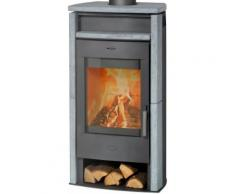 Fireplace Kaminofen »Paris«, Naturstein, 6 kW, Panoramasichtscheibe, Fireplace