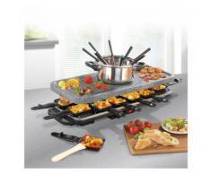 2in1: Fondue- und Raclette-Set