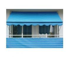 Balkonsichtschutz »Polyacryl, blau/weiß« in 2 Höhen