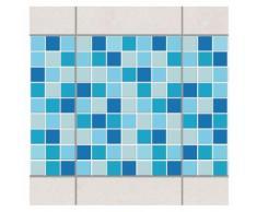 Bilderwelten Fliesen Bordüre Set 20x15 cm »Mosaik Meeresrauschen«