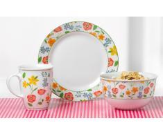Frühstück-Set Porzellan, »Fiorella«