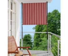 Angerer Freizeitmöbel Balkonsichtschutz »Polyacryl, weinrot/weiß« in 2 Breiten