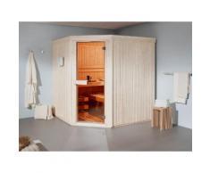 HELO FAMILY Sauna »Kivi 1«, mit Infrarot, 168/168/200 cm, 6-kW-Ofen mit ext. Steuerung