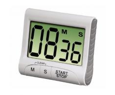 Xavax Küchentimer Countdown, digital, Weiß