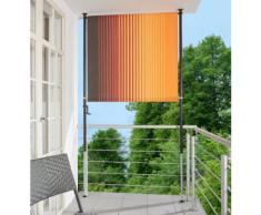 Angerer Freizeitmöbel Balkonsichtschutz »Polyacryl, braun/orange« in 2 Breiten