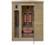 HOME DELUXE Infrarotkabine »Gobi L«, B/T/H: 150/110/190 cm, für bis zu 3 Personen