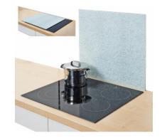 Zeller Present Herdblende-/Abdeckplatte »Granit«, hellgrau, 56 x 50 cm