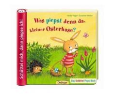 Buch mit Papp-Einband »Was piepst denn da, kleiner Osterhase?«