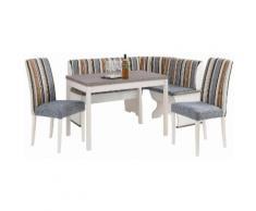 Home affaire Eckbankgruppe »Denis« ,Set bestehend aus Essbank, Tisch und 2 Stühlen