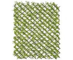 Kunstpflanze »Spalier mit Klee/Lavendel«, Höhe 100 cm, lila