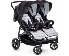 hauck FUN FOR KIDS Geschwisterwagen, »Rapid 3R Duo, Charcoal«