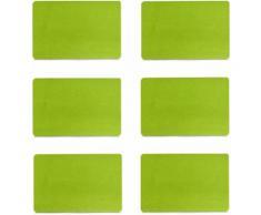 Zeller Present Platzset, Filz, in 6 verschiedenen Farben lieferbar, 30 x 45 cm (6tlg.)