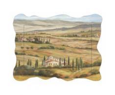 Artland Wandbild »Landschaften Europa Italien Malerei Creme«