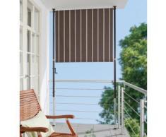 Angerer Freizeitmöbel Balkonsichtschutz »Polyacryl, braun/weiß« in 2 Breiten