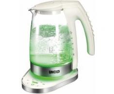 Unold Blitz-Wasserkocher Glas electronic, 1,2 Liter, 2300 Watt