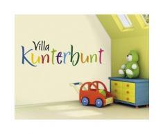 Bilderwelten Wandtattoo »No.SF541 Villa Kunterbunt«