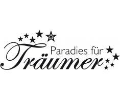 Wandspruch, Home affaire, »Paradies für Träumer «