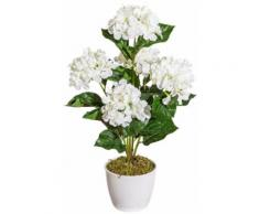 Kunstpflanze »Hortensie«, im Keramiktopf, Höhe 50 cm, weiß