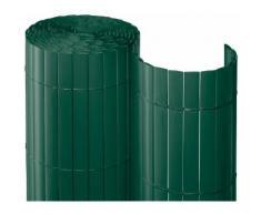 Balkonsichtschutz , BxH: 300x90 cm, dunkelgrün