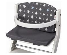 tiSsi® Sitzpolster für Hochstuhl, »Sterne Grau«