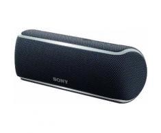 Sony SRS-XB21 Portable-Lautsprecher (Bluetooth, NFC, Extra Bass, Live Sound Modus, Freisprechfunktion, Lichtleiste, Extra Bass, wasserabweisend, kabellos, bis zu 12h Akkulaufzeit)