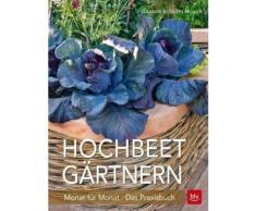 Broschiertes Buch »Hochbeet-Gärtnern Monat für Monat«