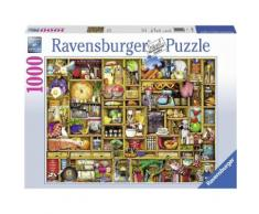 Ravensburger Puzzle, 1000 Teile, »Kurioses Küchenregal«